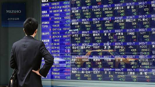 Asian stock markets closed down